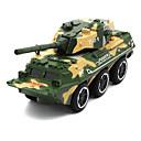 baratos Caminhões de brinquedo e veículos de construção-Veículo Militar Tanque Caminhões & Veículos de Construção Civil Carros de Brinquedo 01:32 Simulação Crianças Unisexo Para Meninos Para Meninas Brinquedos Dom