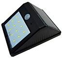 baratos Tênis Masculino-0.5W Luzes Solares LED Sensor do corpo humano Branco Quente Exterior / Iluminação Externa