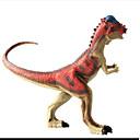 billige Action- og lekefigurer-Drager og dinosaurer Dinosaur Figur Triceratops Jurassic Dinosaur Tyrannosaurus Rex Plast Barne Gutt Jente Leketøy Gave