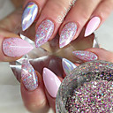 cheap Nail Glitter-1pc Sequins / Glitter Powder / Nail Glitter Elegant & Luxurious / Sparkle & Shine Nail Art Design