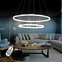 halpa Kattokruunut-Pyöreät Riipus valot Tunnelmavalo - LED, 110-120V / 220-240V, Lämmin valkoinen / Valkoinen / Himmennettävä kaukosäätimellä,  / 20-30㎡