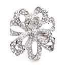 cheap Pins and Brooches-Women's Crossover Brooches - Brooch Gold / Silver For Wedding / Party / Special Occasion / Casual