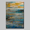 cheap Abstract Paintings-Oil Painting Hand Painted - Abstract Classic Modern Canvas