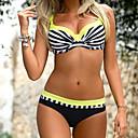 olcso Building Blocks-Női Bikini - Nyomtatott, Állat Merész Pántos