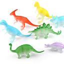 abordables Figuras de dinosaurios-Dragones y dinosaurios Figura de dinosaurio Triceratops Dinosaurio jurásico Velociraptor El plastico Niños Chico Chica Juguet Regalo