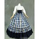 cheap Wedding Slips-Gothic Lolita Dress Lolita Women's Dress Cosplay White Cap Sleeve Half Sleeve Floor Length Costumes