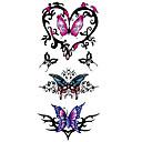 abordables Tatuajes Temporales-1 pcs Tatuajes Adhesivos Los tatuajes temporales Series de Tótem / Series de Animal Impermeable Artes de cuerpo manos / brazo / muñeca
