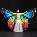 cheap Dance Accessories-Belly Dance Isis Wings Women's Performance Spandex Sequin Crystals / Rhinestones 1 Holder Wings