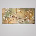 abordables Toiles-Impression sur Toile A fleurs/Botanique Moderne Classique,Un Panneau Toile Horizontale Imprimer Art Décoration murale For Décoration