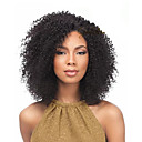 cheap Hair Braids-Jerry Curl Pre-loop Crochet Braids Medium Brown Hair Braids 14Inch Kanekalon 5 Package For Full Head 170gper pack Hair Extensions