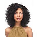 abordables Trenzas-Las trenzas rizadas Rizado Jheri Kanekalon Gris Rubio fresa castaño medio Negro / castaño medio Castaño Medio Extensiones de cabello 35cm