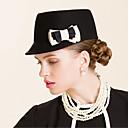 baratos Acessórios de Cabelo-Lã Chapéus com 1 Ocasião Especial / Casual / Ao ar livre Capacete