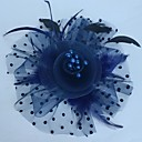 cheap Party Headpieces-Fascinators / Hats / Headwear with Floral 1pc Special Occasion Headpiece