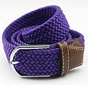 abordables Pelucas Sintéticas de Malla-Unisex Legierung Cinturón Ancho - Detalle Decorativo / Cinturón Vestido Un Color