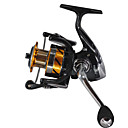 cheap Fishing Reels-Spinning Reel 5.5:1 Gear Ratio+14 Ball Bearings Hand Orientation Exchangable Sea Fishing Fly Fishing Bait Casting Ice Fishing Spinning