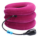 cheap Travel Health-Head & Neck Neck Massager Manual Neck traction device Air Pressure Inflated Relieve neck and shoulder pain Neck Support Portable