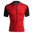 baratos Camisas Para Ciclismo-Jaggad Homens Mulheres Manga Curta Camisa para Ciclismo Moto Camisa/Roupas Para Esporte, Secagem Rápida, Respirável