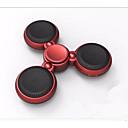 זול רמקולים-Spinner Speaker חוץ מיני Bult-מיקרופון אור LED בלוטות' 4.0 רמקולים Bluetooth אלחוטית תלתן לבן שחור אדום כהה זהב ורד