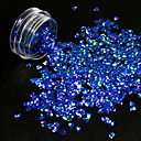 cheap Other Nail Tools-Glitter Powder Nail DIY Tools Sequins 3D nail art Manicure Pedicure Classic Daily