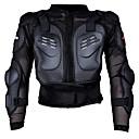 baratos Equipamentos de Proteção-Motocicleta de corrida protetor de armadura motocross off-road peito armadura protetora jaqueta colete vestuário engrenagem protetora