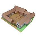baratos Quebra-Cabeças 3D-Quebra-Cabeças 3D Maquetes de Papel Artesanato de Papel Brinquedos de Montar Construções Famosas Simulação Faça Você Mesmo Clássico