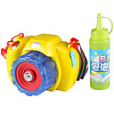 cheap Toy Abacuses-Bubble Blowing Toy Toy Camera Music & Light Electric Plastics Pieces Kid's Gift