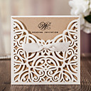 cheap Wedding Shoes-Wrap & Pocket Wedding Invitations 10 - Invitation Cards Classic Style Embossed Paper