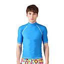 זול חליפות רטובות,חליפות צלילה וחולצות ראש-גארד-SBART בגדי ריקוד גברים אלסטיין חצי שרוול שחייה צלילה גלישה דפוס כל העונות / גמישות גבוהה