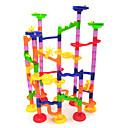 hesapli Mermer Parça Takımları-Luban Kilidi Mermer Palet Setleri Bilye Kaydırağı Plastikler Çocuklar için Oyuncaklar Hediye 1 pcs
