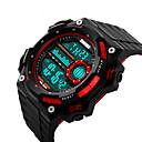 olcso Okosórák-Intelligens Watch YYSKMEI1115 mert Hosszú készenléti idő / Vízálló / Több funkciós / Sportok Dugók & Töltők / Ébresztőóra / Kronográf / Naptár / Két időzóna