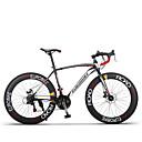 abordables Bicicletas-Bicicletas Confort Ciclismo 21 Velocidad / 27 Velocidad 26 pulgadas / 700CC Shimano Doble Disco de Freno Ordinario Sin Amortiguador Ordinario Aluminum Alloy / Acero de carbono