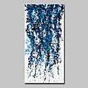 abordables Cuadros Abstractos-Pintura al óleo pintada a colgar Pintada a mano - Abstracto Abstracto / Modern Lona / Lienzo enrollado