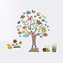 billige Veggklistremerker-Dyr Botanisk Mote Veggklistremerker Fly vægklistermærker Dekorative Mur Klistermærker Højde klistermærker Materiale Hjem Dekor