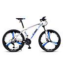 abordables Bicicletas-Bicicleta de Montaña Ciclismo 27 Velocidad 26 pulgadas / 700CC SL-TS-38-9 Aceite para Frenos de Disco Horquilla de suspención Ordinario / A prueba de resbalones Aleación de aluminio