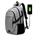 cheap Fashion Laptop Bags-Unisex Bags Canvas Laptop Bag for Outdoor / Traveling Black / Gray / Amethyst