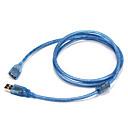 halpa Tripodit, monopodit ja tarvikkeet-USB 2.0 Adapteri, USB 2.0 to USB 2.0 Adapteri Uros - Naaras 1.5M (5ft)