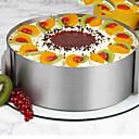 olcso Sütőeszközök-Bakeware eszközök Rozsdamentes acél / Szintetikus / Acél Több funkciós / Nem tapad / Sütés eszköz Mert főzőedények / Cake Kör süteményformákba 1db
