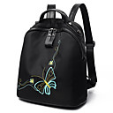 cheap Backpacks-Women's Bags Nylon / PU Backpack for Sports / Formal / Outdoor Black