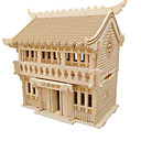 cheap Wooden Puzzles-3D Puzzle Jigsaw Puzzle Model Building Kit Famous buildings DIY Natural Wood Classic Kid's Unisex Gift