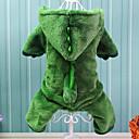 povoljno Odjeća za psa-Pas Kostimi Odjeća za psa Životinja Pamuk Kostim Za Zima Cosplay