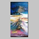 povoljno Apstraktno slikarstvo-Hang oslikana uljanim bojama Ručno oslikana - Sažetak Sažetak Moderna Bez unutrašnje Frame