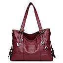 cheap Modern Shoes-Women's Bags PU Shoulder Bag for Casual Red / Gray / Purple