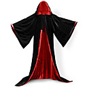 cheap Wedding Flowers-Wizard Coat Cosplay Costume Cloak Witch Broom Halloween Props Party Costume Masquerade Unisex Christmas Halloween Carnival Children's Day