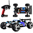 cheap Novelty RC Toys-RC Car WL Toys A959 2.4G 4WD High Speed Drift Car Off Road Car Buggy (Off-road) 1:18 Brush Electric 45 KM/H Remote Control / RC