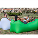 cheap LED String Lights-Inflatable Sofa Sleep lounger / Air Sofa / Air Bed Outdoor Camping Waterproof, Portable, Moistureproof Design-Ideal Couch Oxford Camping / Hiking, Beach, Traveling for 1 person