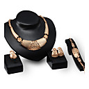 cheap Jewelry Sets-Women's Jewelry Set - Gold Plated Personalized, Luxury, Vintage Include Gold For Party / Special Occasion / Housewarming