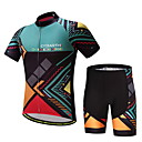 cheap Cycling Jersey & Shorts / Pants Sets-Men's Short Sleeve Cycling Jersey with Shorts Bike Clothing Suit Polyester, Lycra