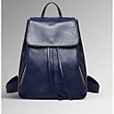 baratos Clutches & Bolsas de Noite-Mulheres Bolsas Pele mochila para Casual Azul / Preto / Vinho