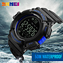 cheap Latin Shoes-Men's Sport Watch Military Watch Smartwatch Digital 50 m Water Resistant / Water Proof Calendar / date / day Chronograph Silicone Band Digital Charm Casual Fashion Multi-Colored - Black Orange Blue