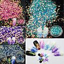 cheap Nail Glitter-1set / 4pcs Glitter Powder Nail Art Tool Sequins 4 Colors nail art Manicure Pedicure Elegant & Luxurious / Sparkle & Shine
